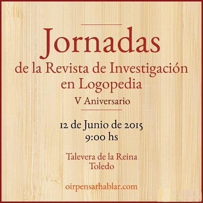 Jornadas Conmemorativas de la Revista de Investigación en Logopedia_opt