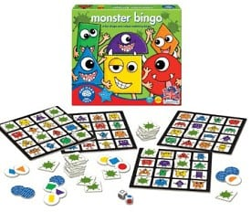 bingo mostruos