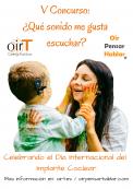 V Concurso: «¿Qué sonido me gusta escuchar? celebrando el Día Internacional del Implante Coclear