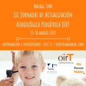 III Jornadas de actualización audiológica pediátrica OírT