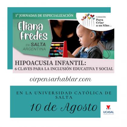 Jornada sobre Hipoacusia Infantil: 6 Claves para la Inclusión Educativa y Social.