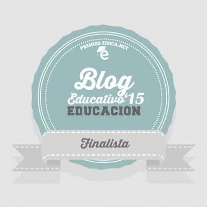 Finalista Blog Educativo Premios Educa 2015